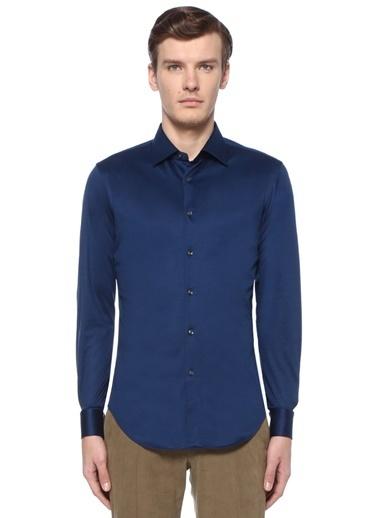 Pal Zileri Gömlek Mavi